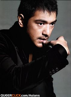 Takeshi Kaneshiro or 金城 武, a Taiwan-born Japanese actor and singer.