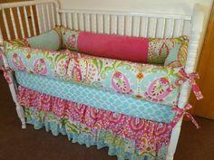 Fun Crib Bedding!!
