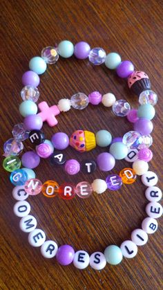 Eating Disorder Recovery bracelets