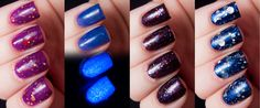 Happy Hands Nail Polish Are You Afraid of the Dark? Collection for Halloween 2013 | Chalkboard Nails