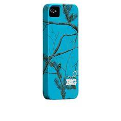 Case-Mate Custom Realtree Camo Cases - APC Aqua #blue
