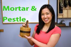 How to Make a Wood Mortar & Pestle. #woodworking