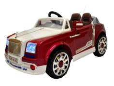 Elegant Rolls Royce Phantom style Ride On Cars For Kids wiht Wireless RC   Rose