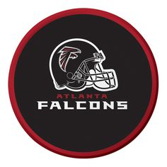 Descriptions NFL 7 inch Lunch Plates Atlanta Falcons/Case of 96 - Design : Atlanta Falcons - Size : 7 inch Dia. - Shape : Round Features - Material Paper - Atlanta Falcons - Size 7 inches 17.8 cm - 8