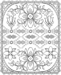 Welcome to Dover Publications  Creative Haven Nordic Designs Collection Coloring Book