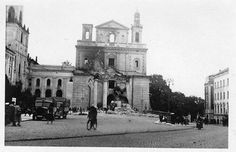 Archikatedra Lubelska 09.1939 My Kind Of Town, Old Photographs, What A Wonderful World, Wonders Of The World, Poland, The Past, September, Campaign, Street View