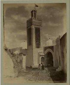 Maroc, Tetuan, Vue de la Mosquée  Vintage albumen print, Tirage albuminé, 21x27 cm, Circa 1875, 220 €