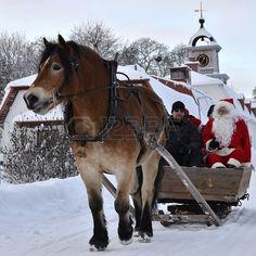 Christmas time in Gysinge, Sweden.