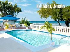 #Swimming destination: Half Moon, Jamaica
