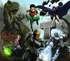 the original teen titans.