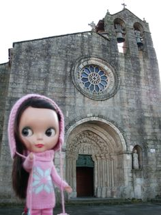 Santa María do Azogue church (Betanzos) - December 2011