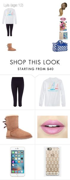 """""""Lyla-Going to Aria and Violet's Slumber party"""" by awanihouse ❤ liked on Polyvore featuring Sweaty Betty, UGG Australia, Fiebiger and Casetify"""