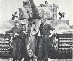 SS Heavy Tank Battalions were also used in the defense on Hill 112