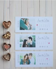 Simple Save the Date Calendar Printable