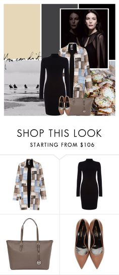 """""""You Can Do It"""" by africagirls ❤ liked on Polyvore featuring Norma Kamali, Phase Eight, MICHAEL Michael Kors and Yves Saint Laurent"""