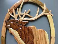 Items similar to Love Birds Intarsia Wall Hanging Wood Carving Wooden Bird Decor on Etsy Carved Wooden Birds, Carved Wood Signs, Wooden Art, Wooden Toys, Deer Ornament, Wood Ornaments, Deer Wall Art, Hanging Wall Art, Intarsia Wood Patterns