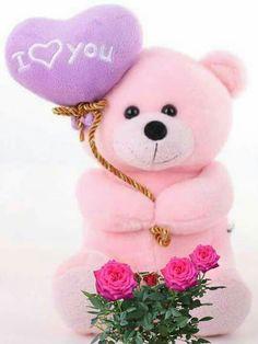 For my love Cute Teddy Bear Pics, Teddy Bear Images, Large Teddy Bear, Baby Teddy Bear, Teddy Bear Pictures, Love Wallpaper Backgrounds, Bear Wallpaper, Cartoon Wallpaper, Eid Balloons