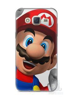 Capa Capinha Samsung J7 Super Mario #1