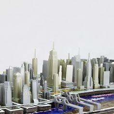 4D Cityscape Puzzle NYC  by 4D Cityscape