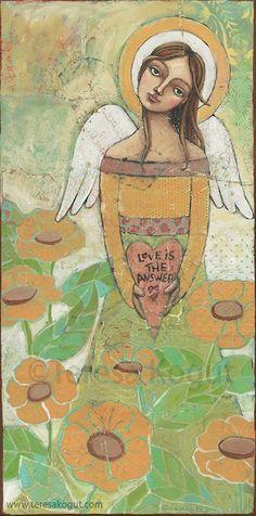 ángel amor arte