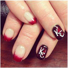 Kansas City chiefs nails!