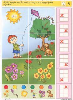 Gyermek kuckó: Logico - évszakok 8 Gross Motor Activities, Brain Activities, Preschool Activities, Free Preschool, Preschool Worksheets, Logic Math, Picture Comprehension, Sequencing Cards, Games