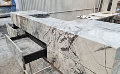 With the ultralight Stonesize panels we achieve yields never seen before in natural stone products in #furniture #design. Its great lightness and the ability to manufacture large formats allow installing all kinds of furniture and mechanized accessories such as drawers, doors, and cabinets in record time and with the minimum amount of resources. The ideal solution for fast and light architecture.⠀⠀⠀⠀ Big / Light / Fast / Strong / Removable / Natural⠀⠀ Light Architecture, Honeycomb, Natural Stones, Cabinets, Drawers, Furniture Design, Marble, Strong, Interiors