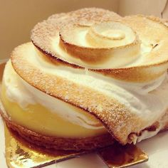 Lemon Meringue Tart at Adriano Zumbo Patissier (Sydney, NSW). #desserts #lemonmeringue