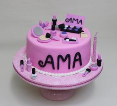 Makeup Cake by Violeta Glace