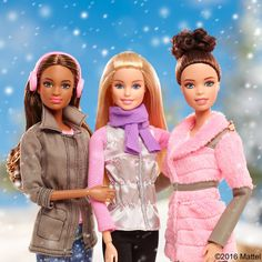 Outdoor adventures with friends gives the perfect boost of inspiration and confidence. Barbie, December 2016