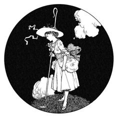 The shepherdess and the chimney-sweeper.  Robinson, William Heath; from Hans Andersen's fairy tales, by Andersen, Hans Christian; London, n.d. [1917].  (Source: The New York Public Library, the Internet Archive)