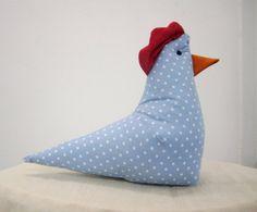 Hen, crib toy, nursery toy, bedtime toy $15