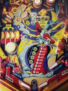 """Gottliebs classic 1979 Wide Body """"Genie""""...a true classic!"""