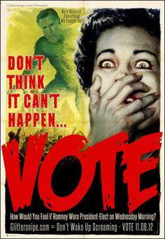 Romney presidency = a nightmare come true