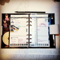 My new planner. I love it!#kalender #kalendereinlagen #kalender2016 #kikkiplanner #kikkiplannerlove #filofaxing #filofax #filofaxlove #filo #happyplanner #happylife #happymail  #agenda #washitape #washi #sticker #stickynotes #stickerplanner #planning #planner #plannergirl #plannernerd #system #systemplanner #primark by maca_desu