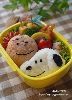 Lunchbox Ideas Bento Box Lunch For Kids Snoopy And Charlie Brown Themed Lunch Box