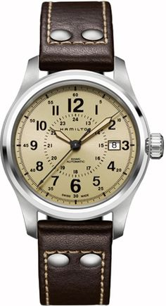 H70595523 - Authorized Hamilton watch dealer - Mens Hamilton Khaki field auto, Hamilton watch, Hamilton watches