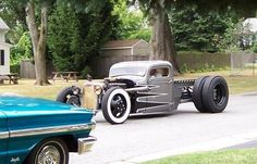"""1938 Dually Deluxe 1.5ton - KillBillet.com """"The Rat Rod Forum Dedicated to fun, low budget, traditional, rusty, patina Rat Rods, Rat Rod Cars, Rat Rod Trucks, Rat Rod Bikes and Old School Hot Rods built with junk yard parts."""""""