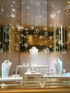 Chanel Fine Jewelry Window Display at Encore Hotel, Las Vegas: #JewelryDisplays