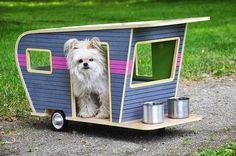 Des mini-caravanes pour nos animaux coup de coeur decodesign / Décoration