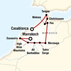 15 Day Tour: Highlights of Morocco from Casablanca to Marrakech. Morocco Beach, Visit Morocco, Marrakech Morocco, Morocco Travel, Africa Travel, Morocco Map, Vietnam Travel, Morocco Itinerary, Morocco Destinations
