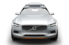 New Volvo XC90 takes shape. The New Volvo XC90 will also be the first car to carry the Swedish carmaker's new design language.