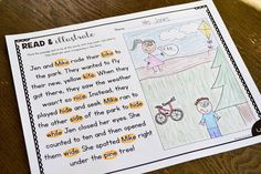 "I am so happy to share some brand new, silent e fluency passages I made... and they are FREE! These phonics ""read & illustrate"" passages are the perfect way to assess students understanding of what th"