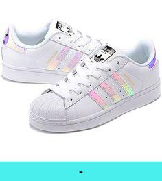 6f6ca40d02 adidas Originals Women's Superstar W Fashion Sneaker B(M) US, Bright Blue)