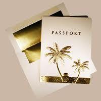 Samples of passport wedding invitations Passport Wedding Invitations, Wedding Invitation Samples, Beach Wedding Invitations, Invitation Ideas, Wedding Styles, Wedding Photos, Greek Wedding, Ring Earrings, Backdrops