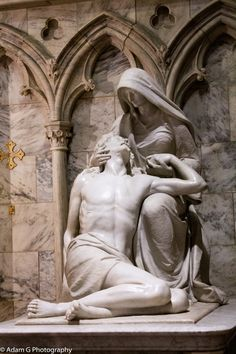 Statue of Jesus & Mary at St Patricks Cathederal in NYC -Photograph Madonna by Adam Goldman on 500px