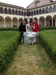 Rifiuti Zero Umbria, Plastic Food a Firenze con Artour-o  @Ecodallecitta @2EWWR @EnviInfo @eHabitatit @menorifiuti http://rifiutizeroumbria.blogspot.it/2015/03/plastic-food-abbraccia-larte-fiorentina.html