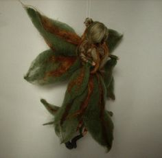 Needle felted Fairy Forest Waldorf inspired by RaduraIncantata, €38.00