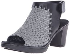STEVEN by Steve Madden Womens Ezzme Heeled Sandal Pewter 75 M US -- This is an Amazon Affiliate link. Check this awesome product by going to the link at the image.