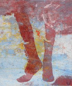 Peinture et Impression Bottines I.2 de la boutique AdeleFontran sur Etsy